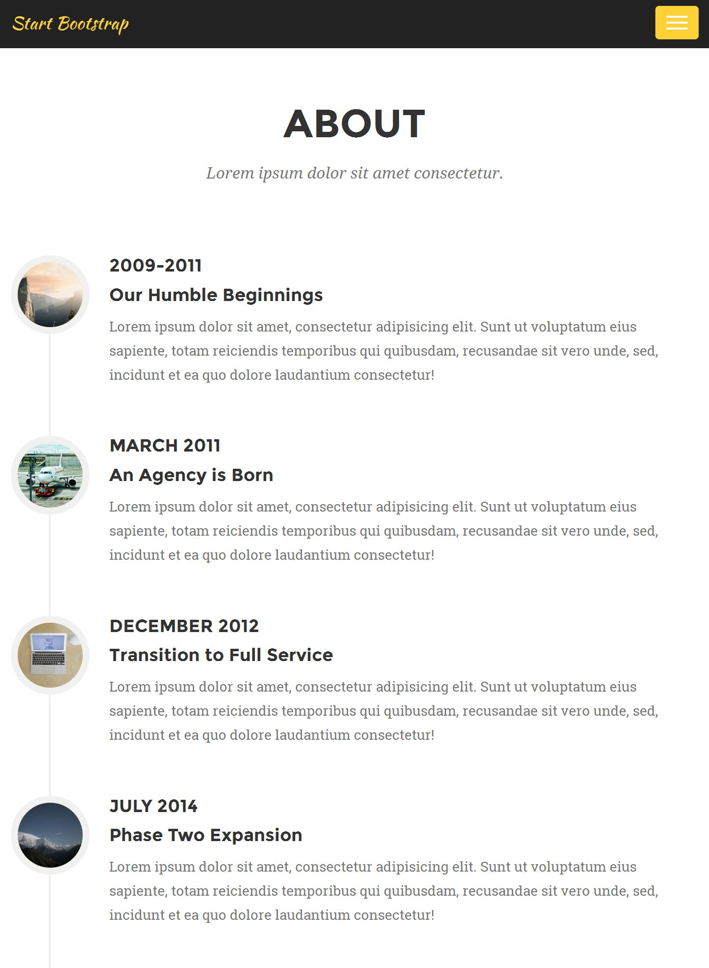40 Free Bootstrap Templates 2019