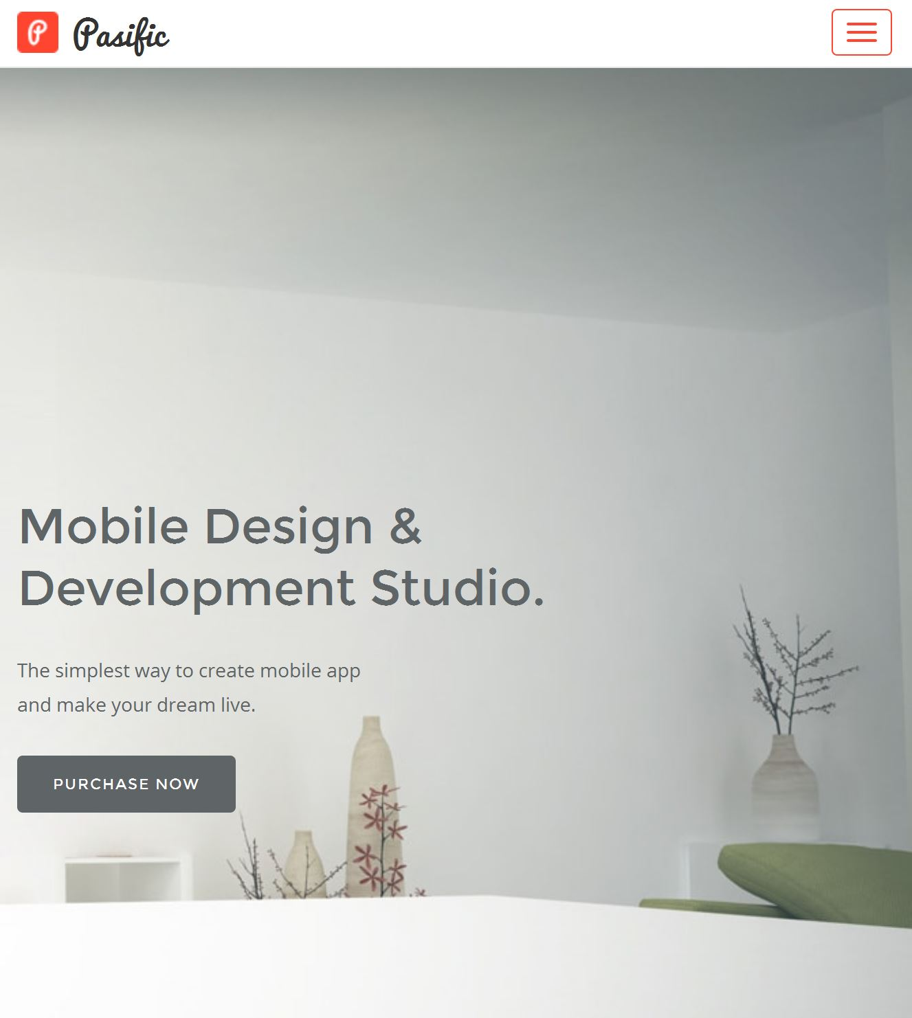 Bootstrap Template Responsive