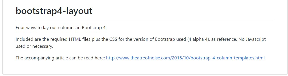 Format examples  throughout Bootstrap 4