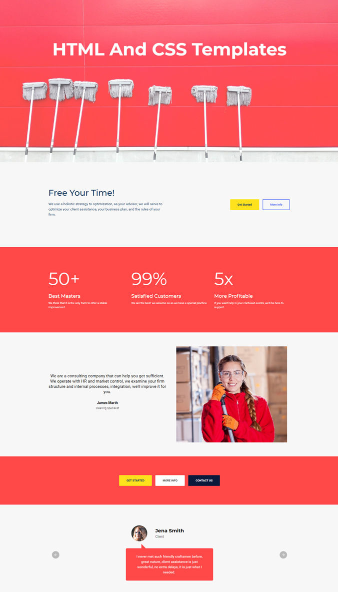 Adaptive Website Template
