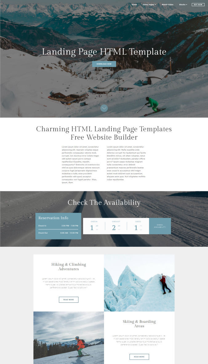 Beautiful Website Template