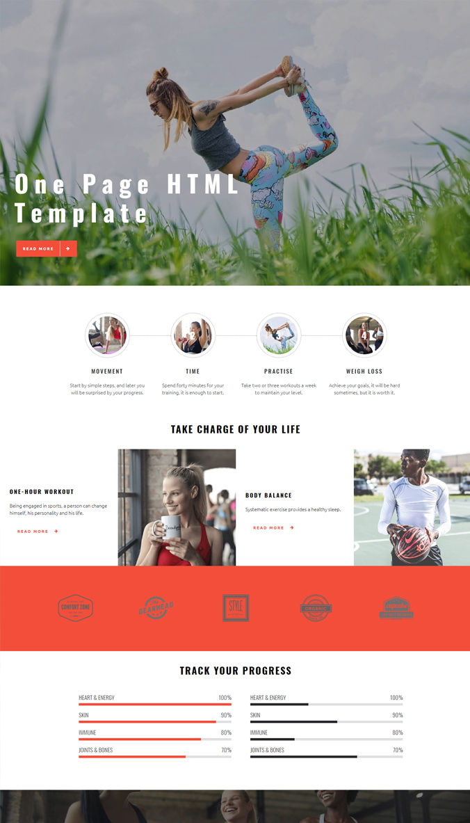 Company Beautiful Template