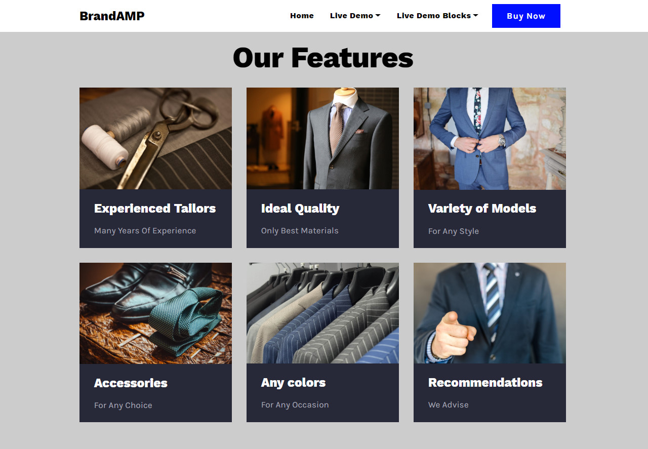 Exceptional Bootstrap Mobile Template Set